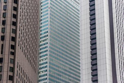 ビル壁面の背景素材(ビジネスイメージ・建設イメージ)