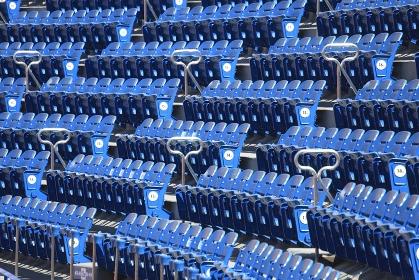 野球場のスタジアムシート