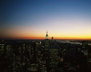 ニューヨーク RCAよりエンパイアステイト・ビル