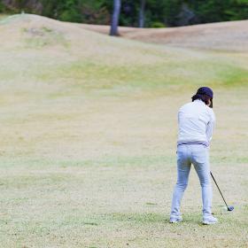 ゴルファー ゴルフ ラウンド スイング ゴルフ場