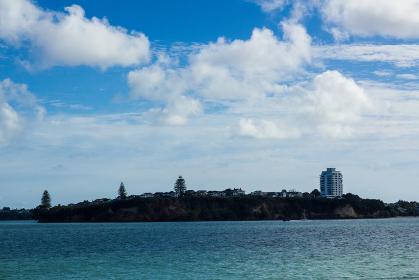 ニュージーランド 船上からの景色