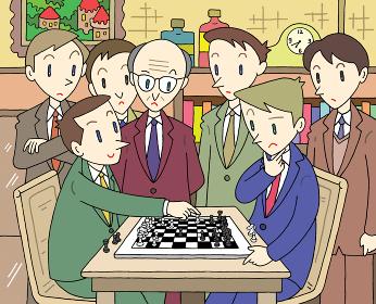 チェスの対局