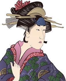 浮世絵 女性 その18