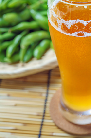 枝豆と冷えたビール