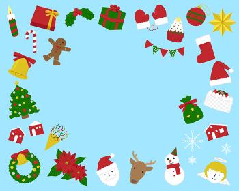 クリスマスイラスト素材セット / ベクター