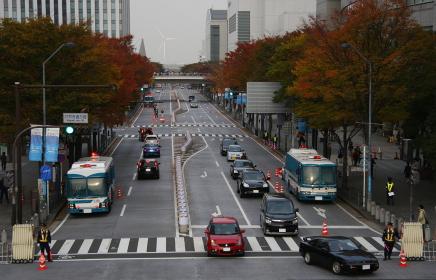 横浜市内の交通規制(2010年APEC横浜開催時)