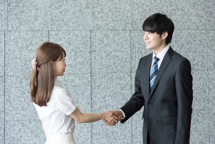 ビジネスイメージ・握手