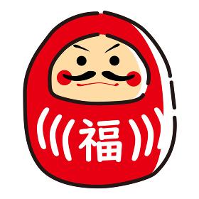 日本文化素材 / 縁起物達磨
