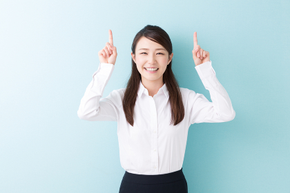 笑顔の女性 おすすめ ビジネス