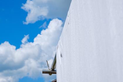青空とシーツ 夏イメージ