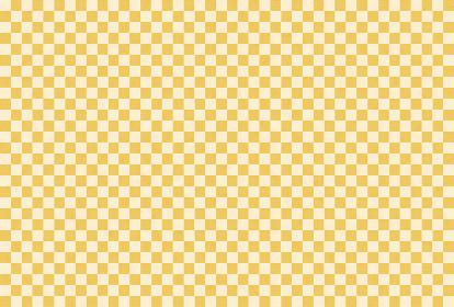 市松和紙 金色