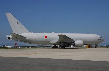 航空自衛隊のKC-767空中給油・輸送機(2010小牧基地航空祭)