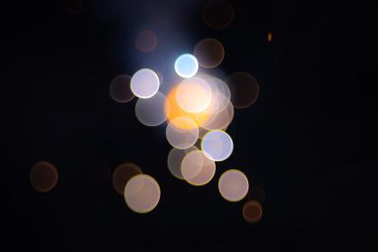 花火のボケ