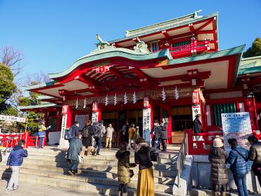 富岡八幡宮 初詣
