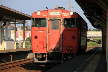 釧路駅キハ40