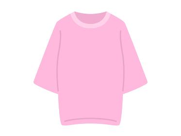 チュニックTシャツのイラスト