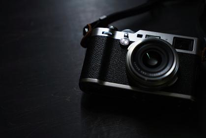 クラシックな雰囲気のカメラ