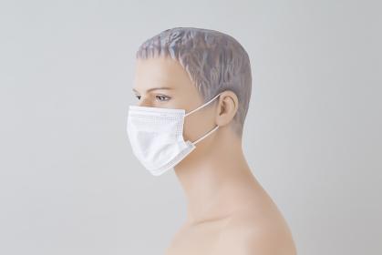 マスク着用トルソー 男性
