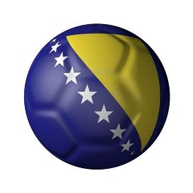 ボスニア・ヘルツェゴビナのサッカーボール型国旗
