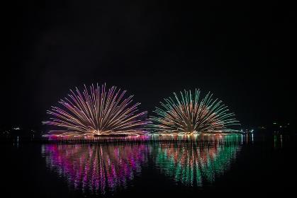 三ヶ日花火大会。静岡県浜松市の花火大会。
