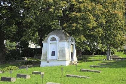 外国人墓地(ロシア人墓地)