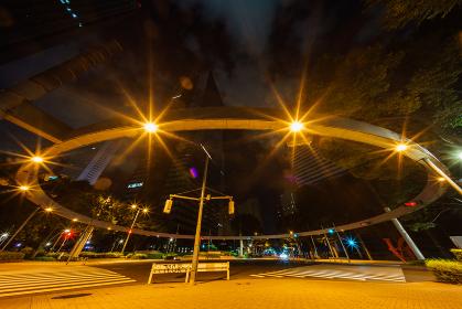 深夜の西新宿