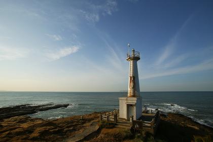 遠見ヶ鼻妙見崎灯台の夕暮れ 福岡県北九州市