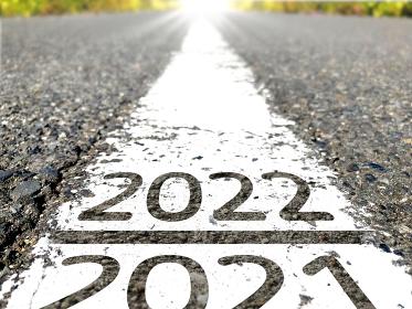 2021から2022へ進む