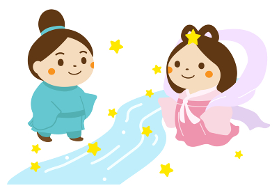 七夕 彦星と織姫