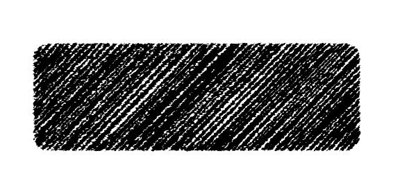 チョークで描いたような図形/アイコン(ボタン背景・角丸)