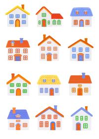 粘土の家12軒