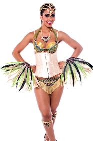 Do you like my carnival costume ?