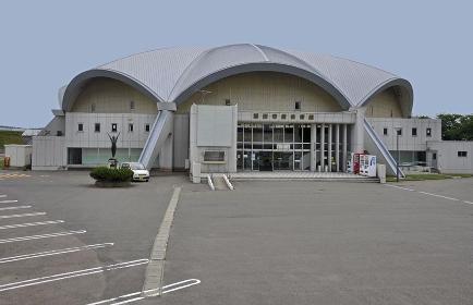 初夏の酒田・酒田市営体育館