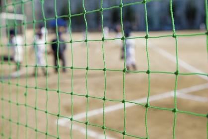 野球場のバックネット