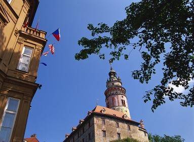 歴史地区とチェスキー・クルムロフ城