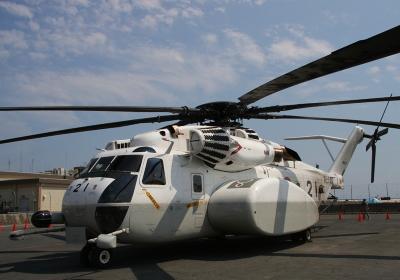 掃海ヘリMH-53E(2010年岩国航空基地祭)