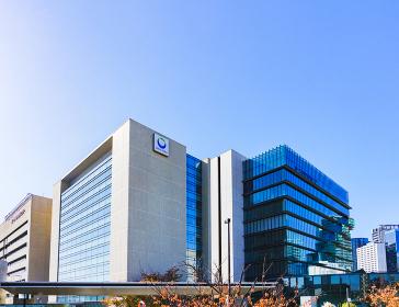 第一三共株式会社品川研究開発センター (被写体の敷地外から外観を撮影しています)