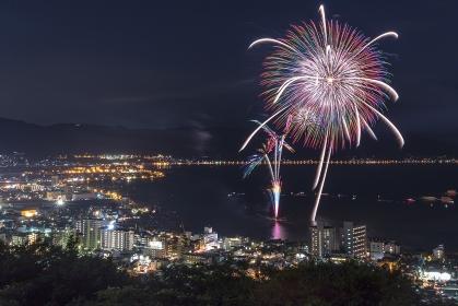 長野県・全国新作花火競技大会 2017 光のアトリエ