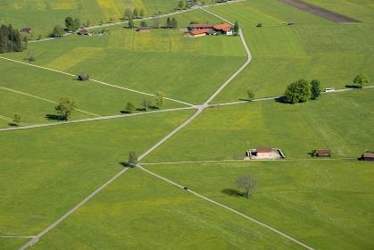 ドイツ シュバンガウ村の田園