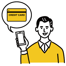 男性 若い ベクター ポップ スマホ クレジットカード