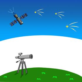 天体観測 イラスト