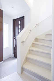 住宅の中の階段