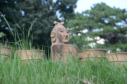 大室古墳群 埴輪・遺跡 群馬県前橋市大室公園