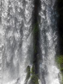 Iguazú Falls are waterfalls of the Iguazu River