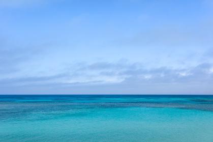 ニシ浜・日本最南端、沖縄県波照間島