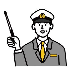 男性 若い バス タクシー 運転手 ベクター ポップ 提案 アドバイス 棒