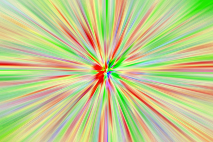 放射パターン2415