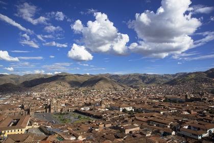 ペルー クスコ旧市街全景