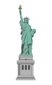 アメリカ・ニューヨーク / 自由の女神 | 世界の有名な建築物(遺跡・建物・世界遺産・ランドマーク)