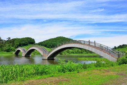歴史の町 秋田県横手市 平安の風わたる公園